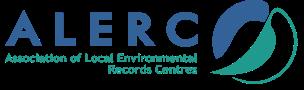 ALERC logo white PNG 10cm